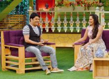 Sania also entertained the audience with her mimicry act in CNWK last year.