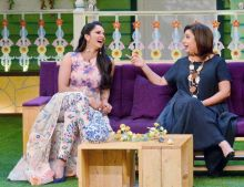 Farah and Sania shared a good bonding while shooting for TKSS.