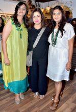 Celebrities at designer Jyoti Mukerji and Bhumika's store launch