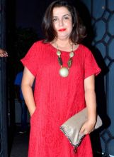 Farah Khan at Baaghi success bash