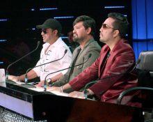 Judges Mika Singh, Sajid and Wajid.