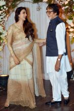 Tabu and Amitabh Bachchan
