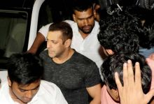 Salman Khan at Baaghi success bash