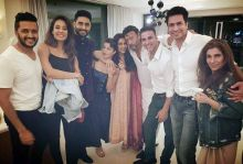 Housefull 3 at Asin's home
