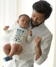 Riaan and Riteish Bachchan