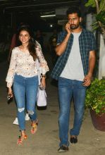 Aditi Rao Hydari and Vicky Kaushal at Udta Punjab screening