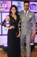 Yeh Hai Mohabbatein's Shagun aka Anita Hassanandani Reddy came along with husband Rohit Reddy at the awards ceremony. She won an award for Best popular actress in negative role.