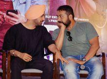 Diljit Dosanjh and Anurag Kashyap at Udta Punjab press conference
