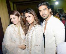 Huma Qureshi, Rhea Chakraborty, Saqib Saleem at Baba Siddique's Iftaar party