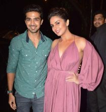 Saqib Saleem and Huma Qureshi at Aanand L Rai's birthday bash