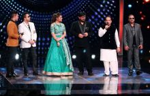 After shooting for The Kapil Sharma Show, Rahat was seen promoting his single on Sa Re Ga Ma Pa.