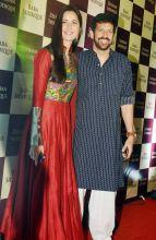 Katrina Kaif and Kabir Khan at Baba Siddique's Iftaar party