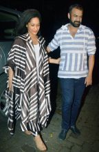 Masaba Gupta and Madhu Mantena at Udta Punjab success bash