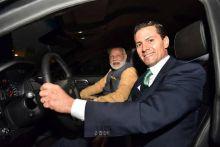 Mexican President Enrique Pena Nieto with Prime Minister Narendra Modi