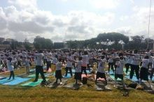 Second International Yoga Day