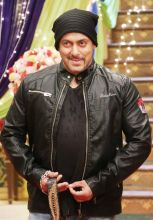 Finally Sallu manages a smile.