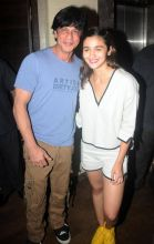 Shah Rukh and Alia Bhatt at Udta Punjab screening