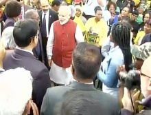 PM Modi at Phoenix settlement