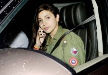 Anushka Sharma at the Sultan screening.