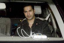 Varun Dhawan at the Sultan screening.