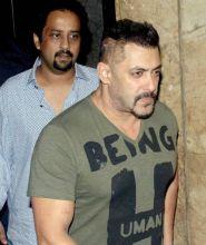 Salman Khan at the Sultan screening.