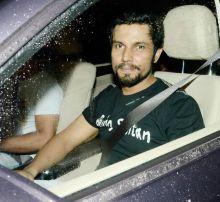 Randeep Hooda at the Sultan screening.