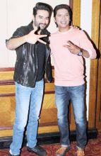 Shekhar Ravjiani and Shaan