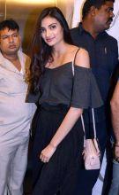 Athiya Shetty at the screening of Dishoom