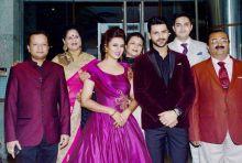 Divyanka Tripathi, Vivek Dahiya at the function