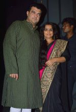 Siddharth Roy Kapur and Vidya Balan were spotted at the party.