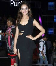 Shakti Mohan looks lovely in black.