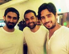 Aditya Roy Kapur, Abhay Deol and Sidharth Malhotra