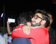 Ranveer Singh is totally in masti mode.