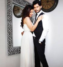 In another set of pics, Sambhavna looks classy in a white gown.