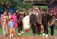 The Kapil Sharma Show cast with Rahman