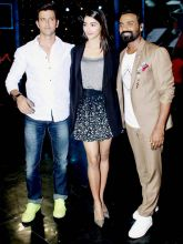 Hrithik Roshan, Pooja Hegde, and Remo D'Souza