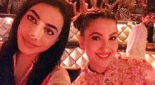 VJ Bani and Gauahar Khan: They met on the sets of ZEE TV's I Can Do That and became best of friends. When Bani fractured her nose during a stunt on the show, Gauahar tried everything to cheer her up.