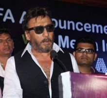 Jackie Shroff was seen at the announcement of The Indian Icon Film Award.