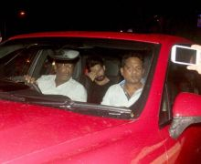 Shahid Kapoor was seen at MHADA recently.