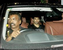 Aditya Roy Kapoor was recently seen at MHADA.