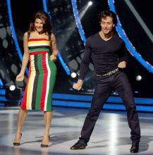 Tiger and Jacqueline give a Jhalak to their awesome dancing skills.