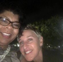 April Ryan and Ellen