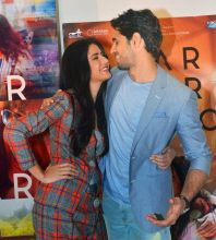 Sidharth Malhotra and Katrina Kaif promoting Baar Baar Dekho.