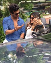 Jennifer Winget and Kushal Tandon