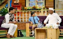 Anna, Kapil and Khajoor in one frame.