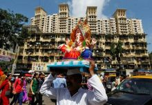 Ganpati celebration Mumbai