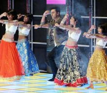 Ranbir enjoying his performance to the fullest.