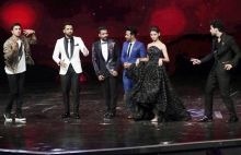 Dance Plus 2 team breaks into a jig with Ranbir.