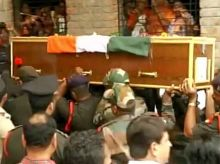 Mortal remains of Sepoy Uike Janrao