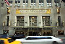 Brangelina's home in the Waldorf Astoria Towers, Manhattan